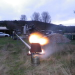 Our 500KWe gasifier in action
